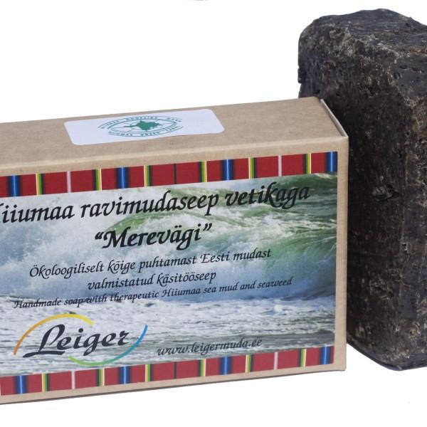 Hiiumaa ravimudaseep vetikaga merevägi