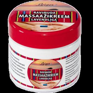 Ravimuda Massaažikreem lavendliga 300 ml