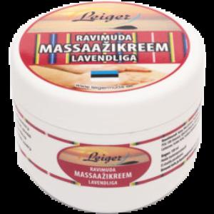 Ravimuda Massaažikreem lavendliga 100 ml